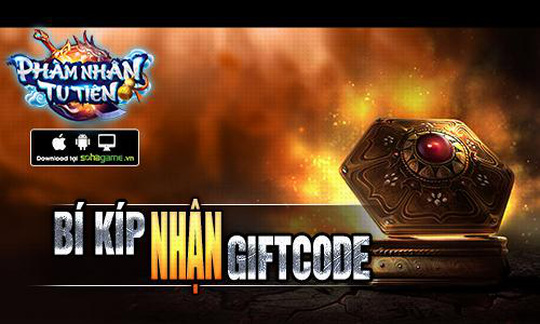 Bí kíp nhận Giftcode